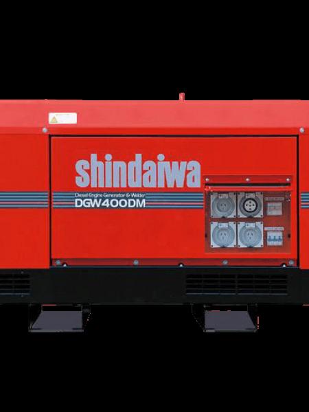 SHINDAWA 15KVA /WELDER DGW 400DM GENERATOR