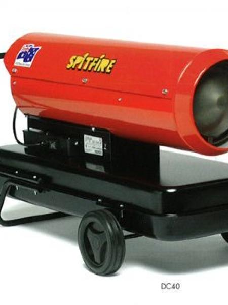 SPITFIRE DC40 DIESEL HEATER